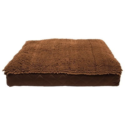 Dog Gone Smart Rectangle Dog Bed Cushion Brown - 3 Sizes