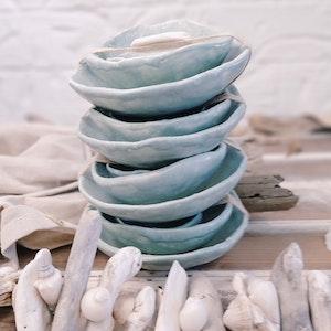 """Ceramic Nesting BOWLS """"Jade"""""""