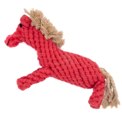 Veggie Paws Harry the Horse - Eco Rope Dog Toy
