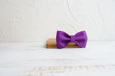 Barker & Bone Bow Tie | Purple
