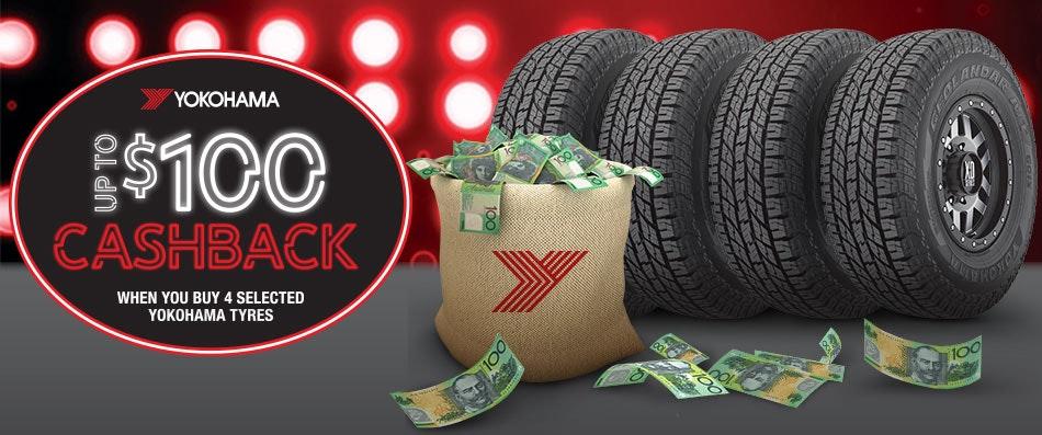 Yokohama Cash Back Promotion | Bob Jane T-Marts