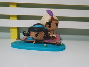 Funko 35760 POP Vinyl 2-Pack Movie Moments Aladdin Magic Carpet Ride