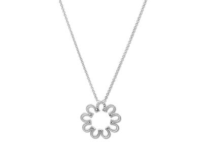 Breeze Horseshoe Circle Necklace