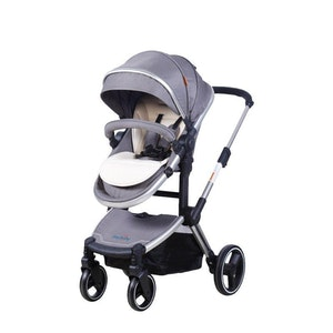 Joy Baby Glide 4 wheels 2 in 1 Baby Pram Stroller with Free Accessories
