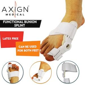 Boutique Medical AXIGN Medical Functional Bunion Splint Corrector Hammer Orthopedic Brace Hallux Valgus