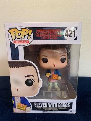 Eleven with Eggos Pop Vinyl