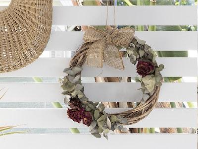 Bambole Designs Rose and Eucalyptus Wreath