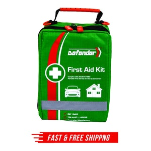 55 PCS Emergency First Aid Kit Defender Medical Travel Set Family Safety AU