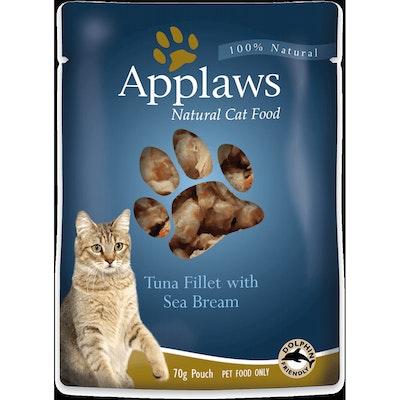 Applaws Tuna & Sea Bream Pouch Wet Cat Food 70G