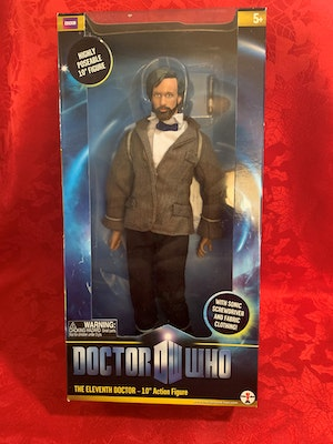 """Dr Who - 11th Doctor 10"""" Figure (With Beard)"""