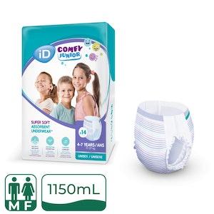 iD Comfy Junior Pants 4-7 Years (17-27KG)