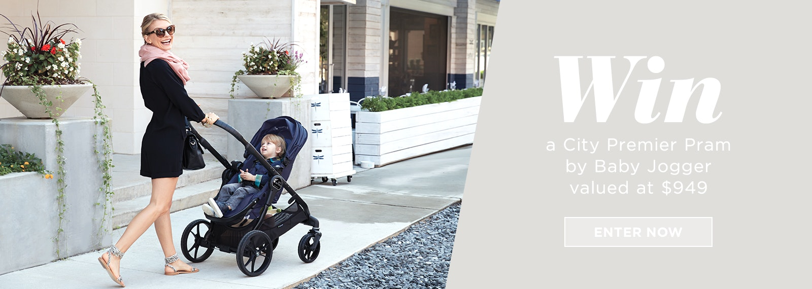 Win a City Premier Pram from Baby Jogger valued at $949!