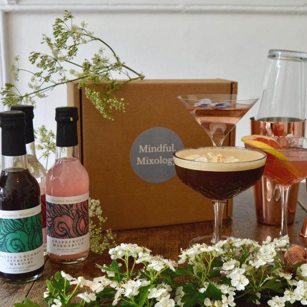 Mindful Mixology Cocktail Gift Box- Six Serves