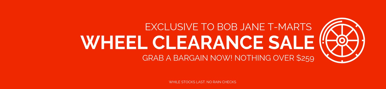 Wheels Clearance Sale