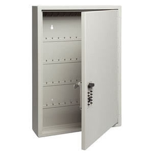 Kidde Touchpoint key cabinet 120 key capacity in Clay colour