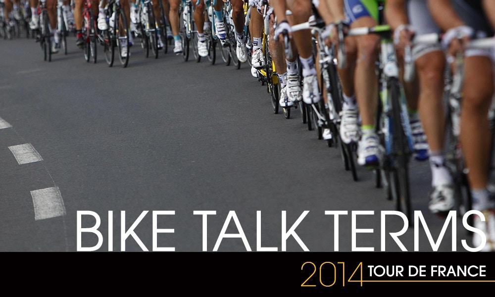Bike Talk - Tour de France Lingo