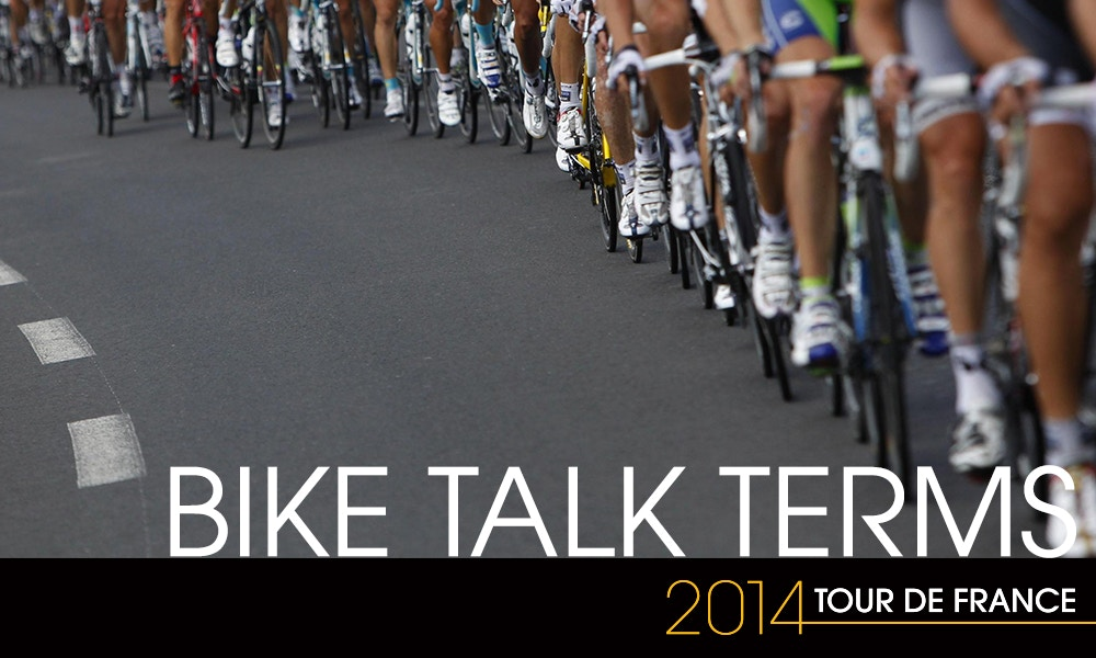Tour Talk -  a Cycling Terms Guide