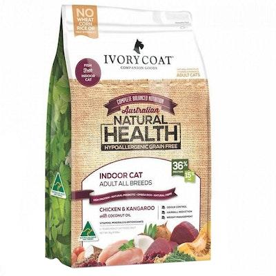 IVORY COAT Cat Adult 1+ Indoor Chicken & Kangaroo With Coconut Oil 3kg