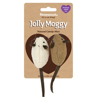 Rosewood Jolly Moggy Hessian Mice