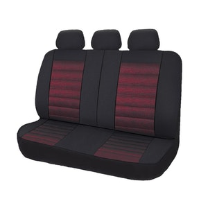 Universal Opulence Rear Seat Covers Size 06/08S | Red