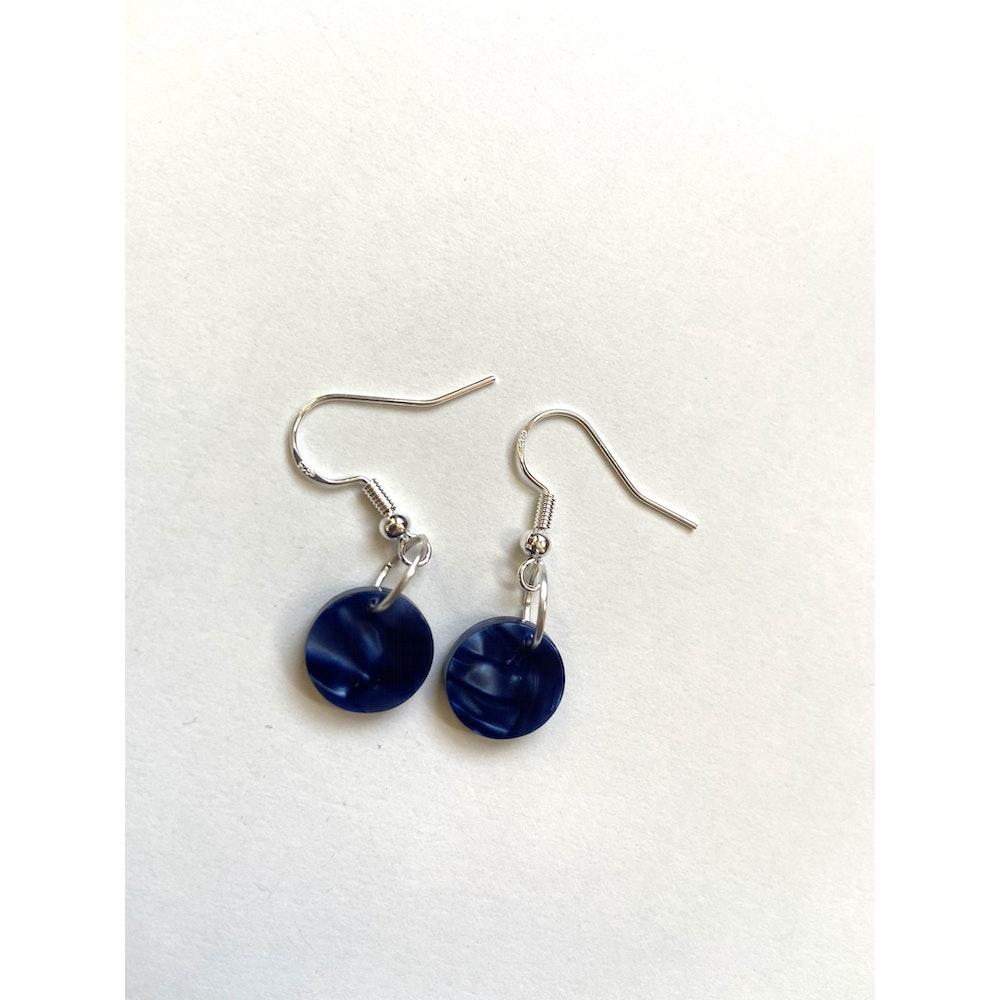 One of a Kind Club Blue Charm Earrings