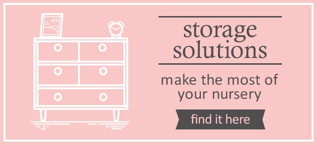 Make The Most of Storage in Your Nursery