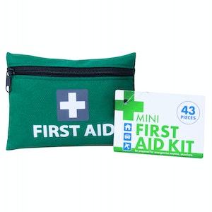 Boutique Medical 2x Mini First Aid Kit 86pcs Emergency Medical Travel Pocket Set Family Home Car Treatment
