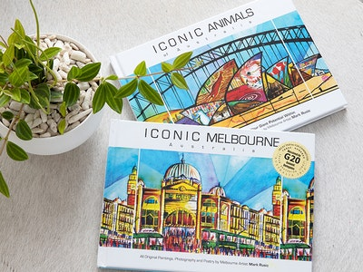 Iconic Colours ICONIC MELBOURNE gift book