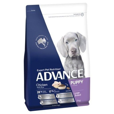 Advance Dry Dog Food Puppy Large Breed Chicken 3kg
