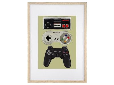 GAMER - Art Print