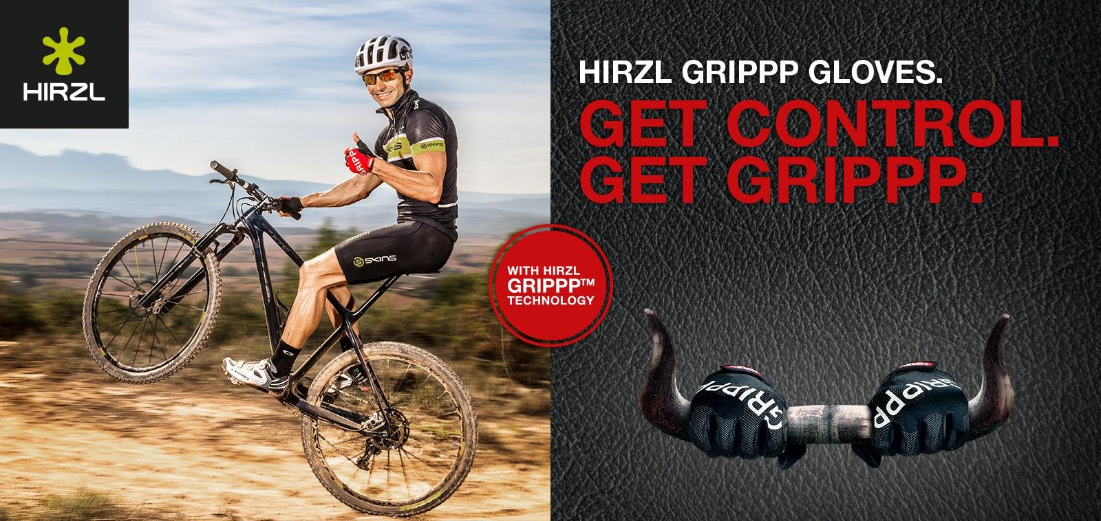 HIRZL GRIPPP Handschuhe | BikeExchange