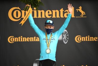 Supermán López Gana en la Cima del Col de la Loze - Etapa 17 del Tour de Francia