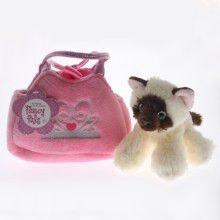 Tebby Bears  Child's Small Handbag with Siamese Cat