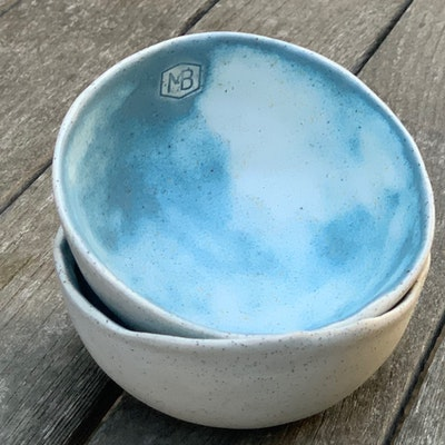 Memory Box Pinch Dip Bowl set in Bubblegum (includes x2 bowls)