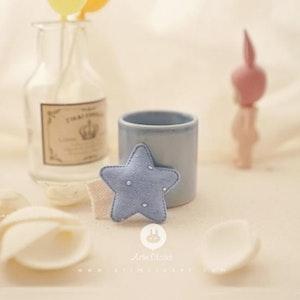 Blue Star Hairpin