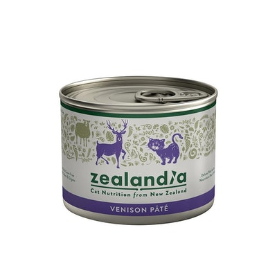 ZEALANDIA Venison Pate Cat Wet Food 185g