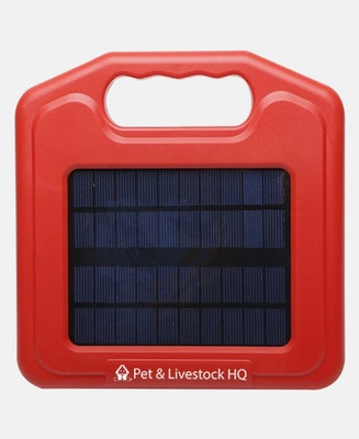Pet & Livestock HQ 3km Solar Electric Fence Energiser Charger