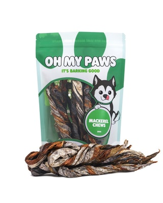 Oh My Paws Mackerel Chews