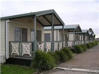Benalla Leisure Park Cabin options.