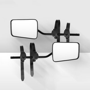 2x Universal Fit Towing Mirrors