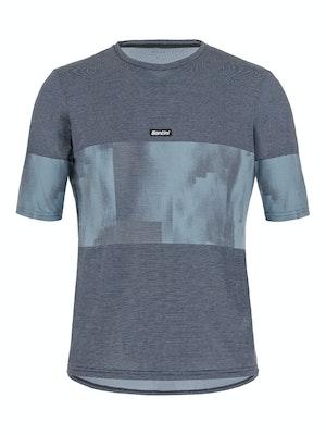 Santini SMS Forza Indoor Training Tech T Shirt