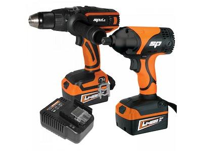 Cordless Tool Combo Kit 18v 3.0ah 2 Piece Max Lithium SP82227