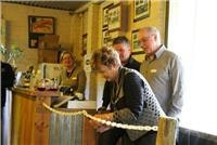 Mayor Cr Dorothy Patton re-opens Halls Gap  Lakeside Tourist Park.IMG 0336