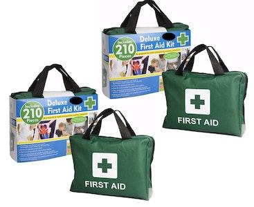 Boutique Medical 2x 210PCS EMERGENCY FIRST AID KIT Medical Travel Set Workplace Office ARTG BULK