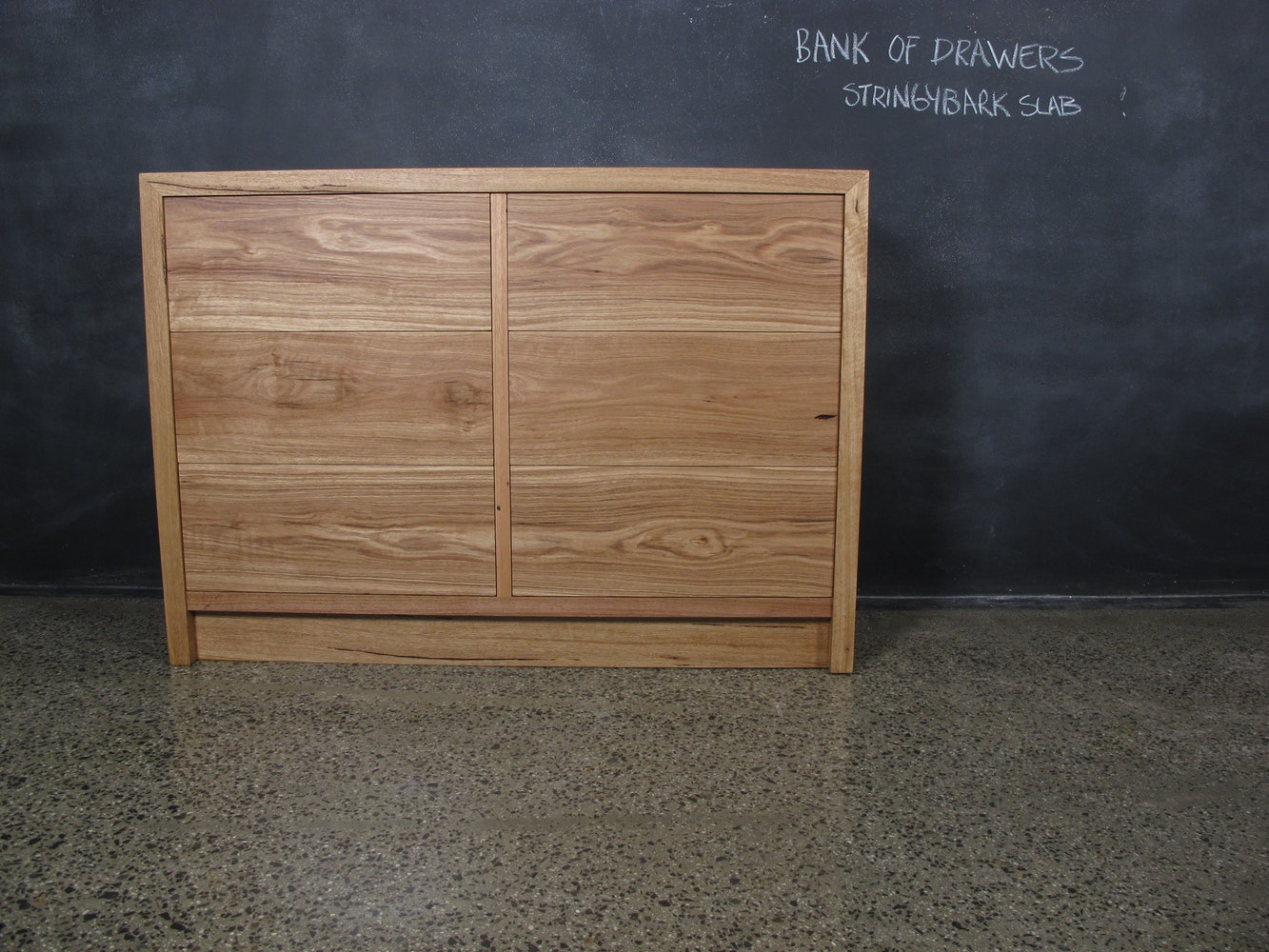 Christian cole furniture stringybark bank of drawers custom drawers dressers for sale in Display home furniture auction melbourne