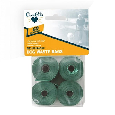 Our Pets Waste Pik-Up Bags Dog Waste Bags 60 Pack