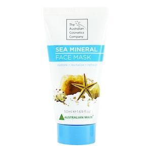 The Australian Cosmetic Company Face Mask Sea Mineral 50ml Beauty Facial Care