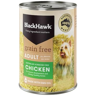 Black Hawk Grain Free All Breed Adult Dog Food Chicken - 2 Sizes