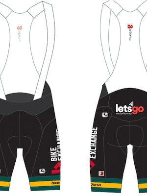 Giordana Team BikeExchange FRC PRO Bib Shorts