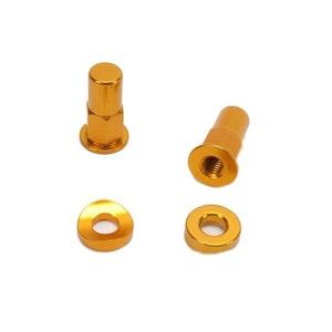 Rim Lock Kit - Gold